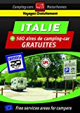 Guide Italie des AIRES GRATUITES CAMPING CAR