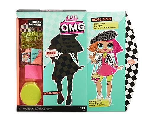 Image 4 - MGA- Poupée-Mannequin L.O.L O.M.G. Neonlicious avec 20 Surprises Toy, 560579, Multicolore