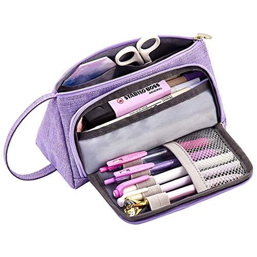 Memoryee Astuccio per matite di grande capacit Durevole Studente Porta penne Organizzatore con...