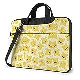 15.6 ″ Viaje de Negocios Bebé Winnie The Pooh Laptop Notebook PC Maletín Bolsa de Mensajero de Hombro Funda