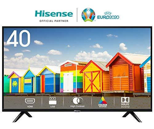 HISENSE H40BE5000 TV LED HD, Natural Colour Enhancer, Clean Sound, Motion Picture Enhancer, Tuner...