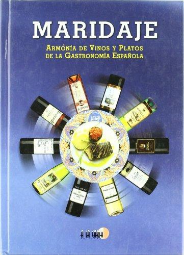 Maridaje. armonia de vinos y platos de la gastronomia españ