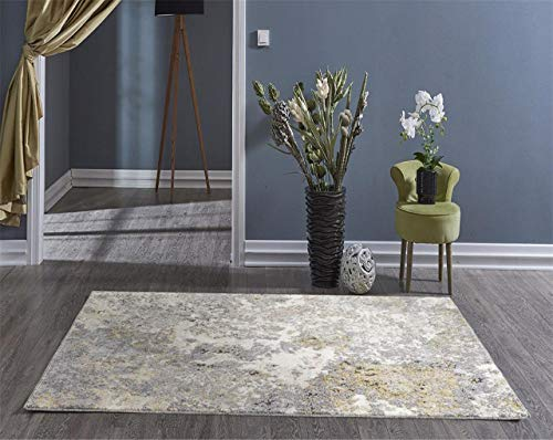 Persian Rugs 6490 Gray 8 x 10 Abstract Modern Area Rug