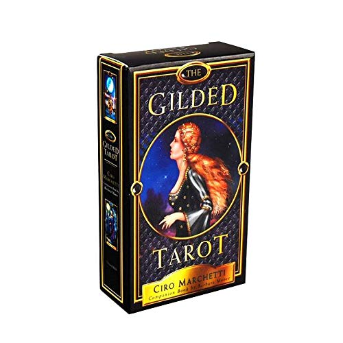 KOOLIFE The Gilden Tarot Cards Deck Popular Fortune Telling...