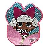 MC SRL LOL Surprise! Art Conjunto de maletín Porta Colores - Pasteles Colores de Cera Acuarelas y Pinceles