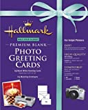 Hallmark Premium Half-Fold Glossy Photo Greeting Cards with Envelopes - 15 count (For Inkjet Printers) (1)