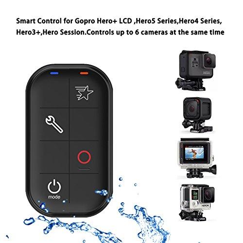 COOSA Telecomando Gopro Control Remoto Intelligente Impermeabile a Distanza perGopro Hero+ LCD Hero 5/4/3 Series senza Fili Impermeabile Smart Remote Distanza Intelligente Telecomando per videocamere