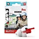 Alpine MotoSafe Pro Bouchons d'oreilles protection auditive pour motocyclisme - Boules Quies pour...