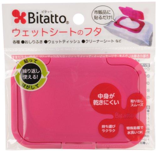Bitatto ビタット ウェットシートのふた ストロベリー