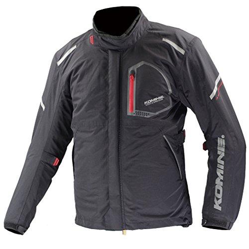 コミネ(KOMINE) バイク用 コンフォートウィンタージャケット-フワ ブラック L JK-586 オールシーズン向け 防水 防寒 CE規格 プロテクター