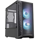 Cooler Master MasterBox MB311L ARGB Airflow Micro-ATX Tower with Dual ARGB Fans, Fine Mesh Front...