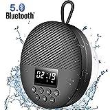 AGPTEK Enceinte Bluetooth 5.0 Portable, Radio de Douche Haut-Parleur Etanche...