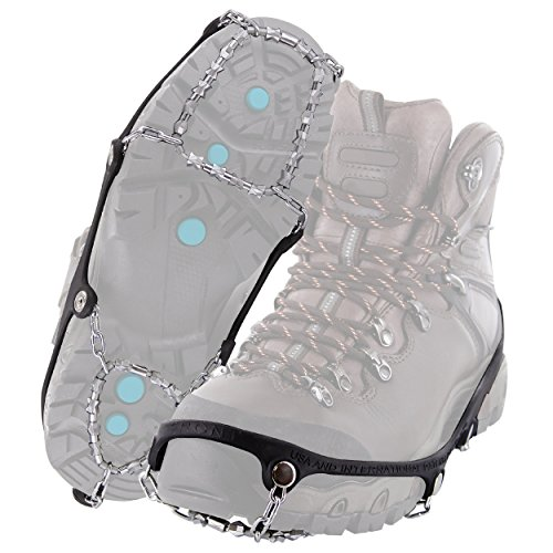 Yaktrax Diamond Grip All-Surface Traction Cleats for Walking on Ice and Snow (1 Pair)