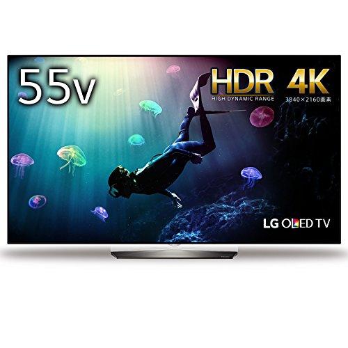 LG 55V型 有機EL テレビ OLED55B6P 4K 外付けHDD裏番組録画対応 2016年モデル