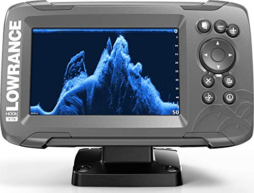 Lowrance HOOK2 5 - 5-inch Fish Finder with TripleShot Transducer and US Inland Lake Maps Installed...