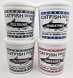 Catfish Charlie Dough Bait Variety Pack, 14oz Tubs