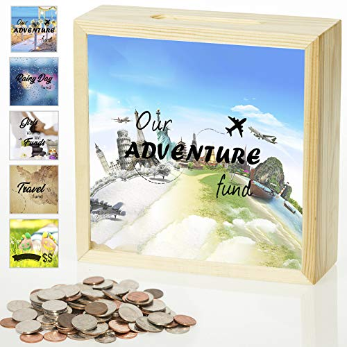 Adult Piggy Bank - Our Adventure Fund...