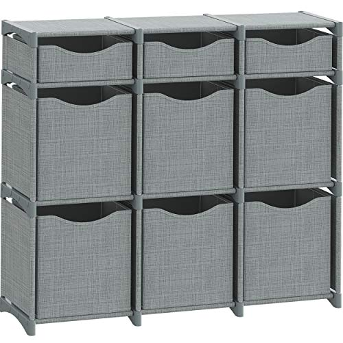 9 Cube Organizer | Set of Storage Cubes Included | DIY Closet...