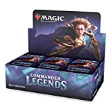 Magic: The Gathering Commander Legends Draft Booster Box | 24 Booster Packs (480 Cards) | 2 Legends...