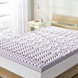 Best Price Mattress 3 Inch 5-Zone Memory Foam Topper, Mattress Pad with Soothing Lavender Infusion, CertiPUR-US Certified, Twin