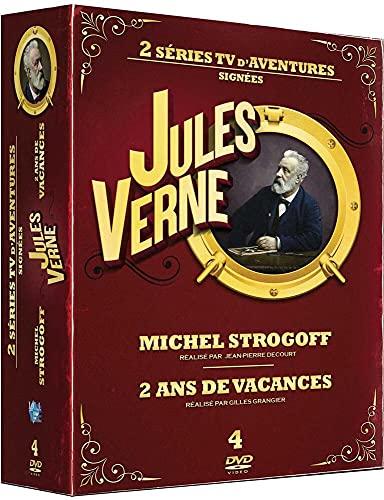 Jules Verne-Coffret : Michel Strogoff + Deux Ans de Vacances