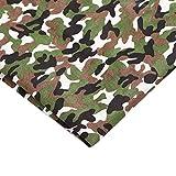 Rancheng 50cmx150cm Tissu Imprimé Camouflage Tissus au Metres Matériel DIY Couture Patchwork Artisanats tissu a coudre Bricolage Fabric Loisirs créatifs #vert