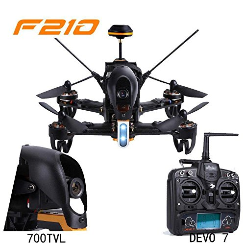 Walkera F210 Professional Racer Quadcopter Drone w/ Devo 7 Transmitter 700TVL Night Vision Camera OSD Ready to Fly Set Mode 2 by