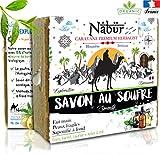 Nabür - Savon Soufre, Glycérine Végétal | Arbre à thé BIO, Olive, Coco,...