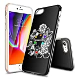 iPhone 6/6s Plus Phone Case,Ultra Slim Clear TPU Shockproof and Anti-Scratch Case Cover- Customizable Patterns [LZX201904179]