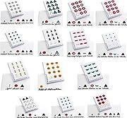 Montessori Wortartensymbole selbstklebend, 14 verschiedene, je 300 Stück, Montessori-Material zur Freiarbeit