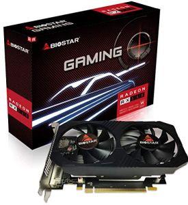 Biostar OC Gaming Radeon RX 560 4GB GDDR5 128-Bit DirectX 12 PCI Express 3.0 x16, DVI-D Dual Link, HDMI, DisplayPort and Vortex Dual Cooling Fan