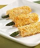 Crispy Asparagus with Asiago in Phyllo - Gourmet Frozen Appetizers (50 Piece Tray)