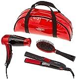 Ardes Medicura ARM350 Beauty Travel Hair Set en bolsa, bolso de mano, mini Phon + plancha ...