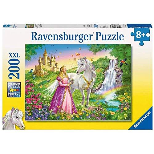 Ravensburger Principessa con Cavallo - Puzzle 200 Pezzi