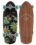 Globe Skateboards Stubby Cruiser Skateboard Complete, Walnut/Hellaconia, 30