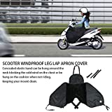 evergreemi Scooter Tablier Couvre,Universel Housse Protection Jambe Tour Tablier Couverture, Jambe...