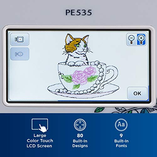 Product Image 1: Brother PE535 Embroidery Machine