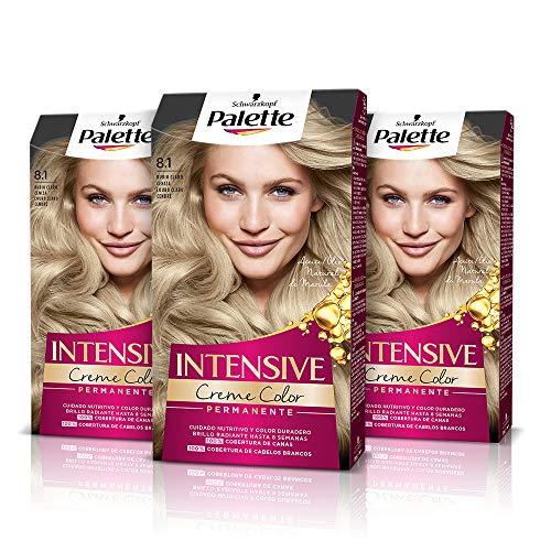 Schwarzkopf Palette Intensive - Tinte 8.1 cabello Rubio Clar