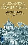 Journal de voyage, tome 2 : Lettres à son mari (14 janvier 1918 - 31...
