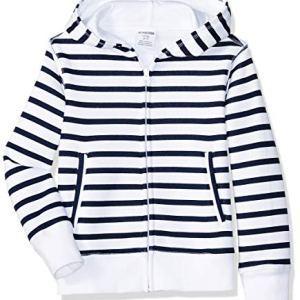 Amazon Brand – Spotted Zebra Girls Fleece Zip-Up Sweatshirt Hoodies