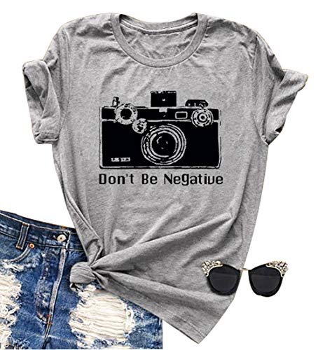 Never Lose Focus Shirt Women Camera Graphic Cute...
