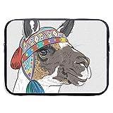 Cartoon Alpaca Peru Llama Ethnic Laptop Case Funda Bolsas Funda para 13 Pulgadas