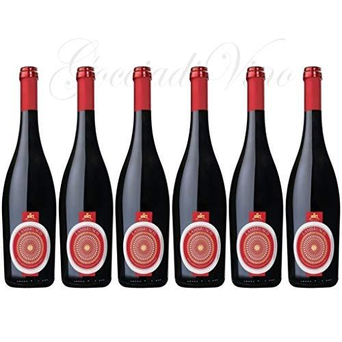 6 bottiglie LAMBRUSCO DOLCE DI MANTOVA Feudo Italia frizzante