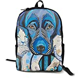 Mochila multiusos Ancient Colorado Mountain Flag lila para ordenador portátil con correas ajustables para el hombro mochilas estilosas para la escuela universitaria universitaria Animal Cat Blue