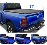 Tyger Auto T3 Soft Tri-Fold Truck Bed Tonneau Cover for 2019-2021 Ram 1500 New Body Style   6'4' Bed...
