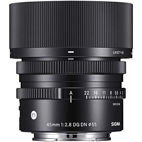 SIGMA 単焦点レンズ 45mm F2.8 DG DN | Contemporary C019 SONY E-Mount用 フルサイズ対応 ミラーレス専用 360658