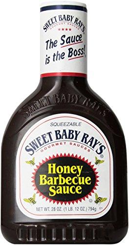 Sweet Baby Rays Barbecue Sauce, Honey, 28 oz