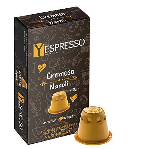 100 Capsule Nespresso compatibili (CREMOSO Napoli)