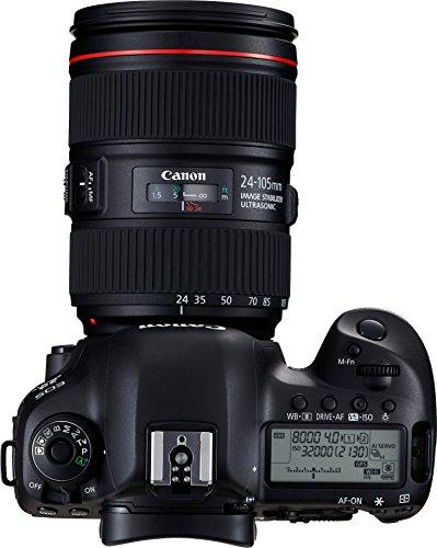 Canon EOS 5D Mark IV 30.4 MP Digital SLR Camera (Black) + EF 24-105mm is II USM Lens Kit 3