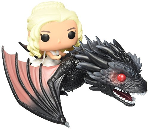 Funko - POP! Vinilo Colección Juego de tronos - Figura Drogon & Daenerys (7235)